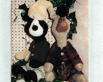 """Sewing Pattern for """"Norbert Bear"""" from HuckleBearies"""