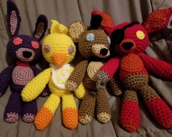 Five Nights at Freddy's Crew Plushie Bundle