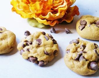 Chocolate Chip Pumpkin Cookies, Chocolate Chip Cookies, Chocolate Cookies, Pumpkin Cookies