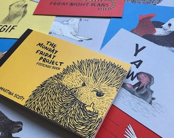 The Monday Friday Project POSTCARD BOOK
