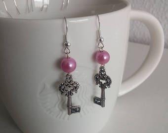 Sweet key earrings