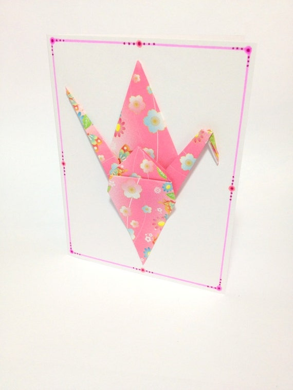 Origami Birthday Cards Origami Cranes Gift Cards Origami