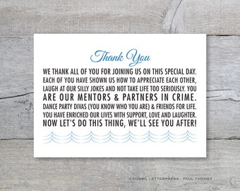 Imagenes De Thank You Card Messages For Destination Wedding