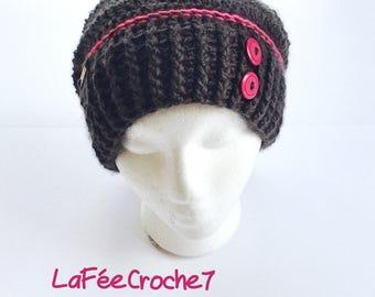 Crochet Hat Slouchy Hat Beanie Beanie handmade Handmade