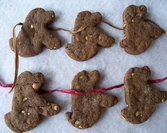Carob Peanut Butter Pups