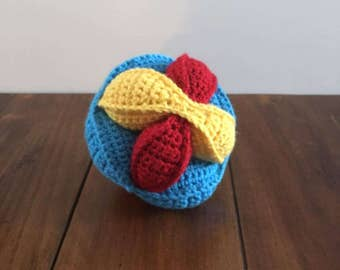 Amish Puzzle Ball - Primary Colors