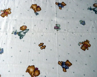 baby Teddy bear fabric