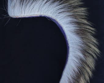 Native Head Roach Headdress - Lakota Sioux - Porcupine Hair Roach