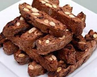 Hazelnut Cappachino Biscotti