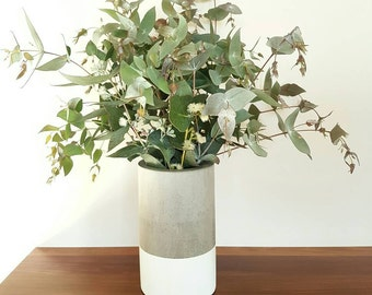 Large Dipped Vase