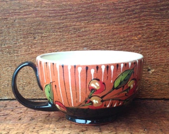 Black Cherry Latte Cup