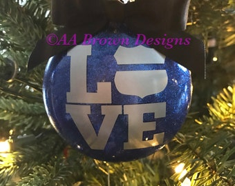 Law Enfocement LOVE ornament