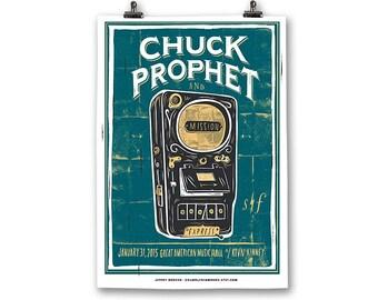 Chuck Prophet Poster
