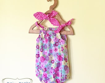 Infant Clothes, Boutique Baby Clothes, Baby Shower Gift, Girl Clothes, Sibling Outfits, Baby Outfit, Headband, Sizes NB to 18-24 Months