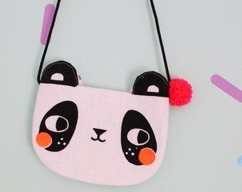 Panda bag purse kids bag