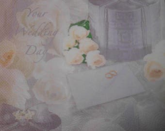 092 wedding napkin