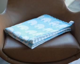 Elephants Weighted Therapy Blanket- all sizes and weight available