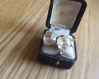 Victorian Inspired Swarovski Crystal Earrings