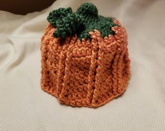 Crochet pumpkin hat 12 months