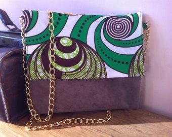 Handbag leather and wax