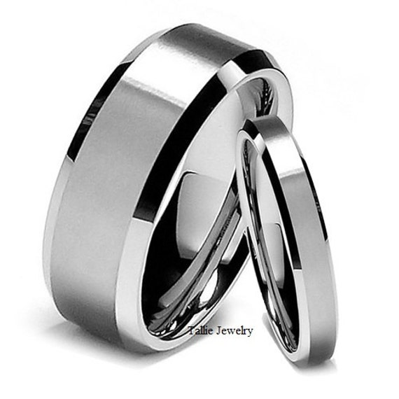 His Hers Wedding RingsMatching Wedding Bands14K White Gold