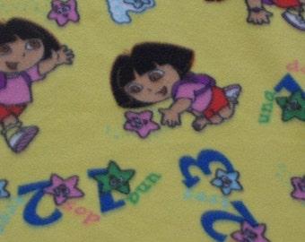 Dora the Explorer Fleece Blanket  - PRICE LOWERED