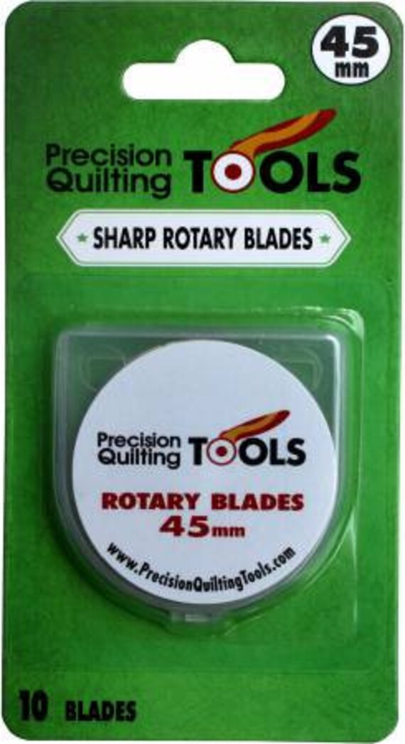 ROTARY BLADES 45mm x 10 blades from Precision Quilting Tools