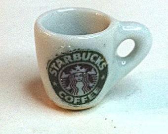 Miniature Starbucks coffee cup (CER002)