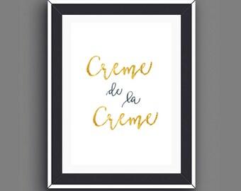 Paris Bedroom Decor, Paris Decor, Foodie Quotes, Gifts for Foodies, Gold Foil Prints, Kitchen Wall Art, Foodie Prints, Instant Download