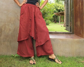 Pants All colour mixed silk (one size fits S-L)(1193)
