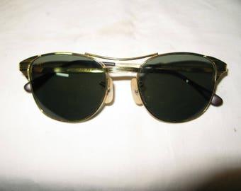 S 128g > 40.3g Rare Vintage RAYBAN Sunglasses B&L SIGNET 12ct G/F USA