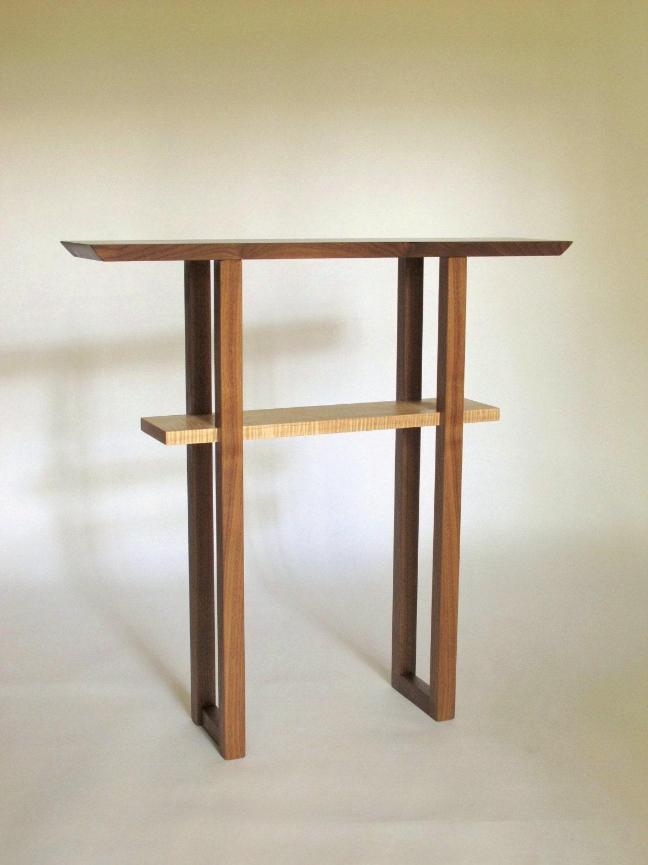 Table De Console Dentr E Troite Personnalis Skinny Table # Console Colore Ameublement