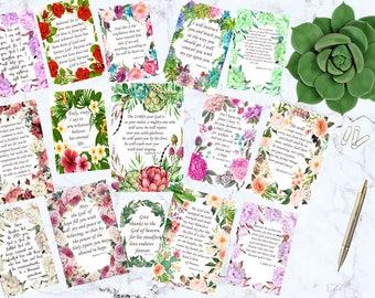 scripture cards bible verse cards bible journaling inspirational cards scripture art encouragement cards christian bible verse stickers pdf