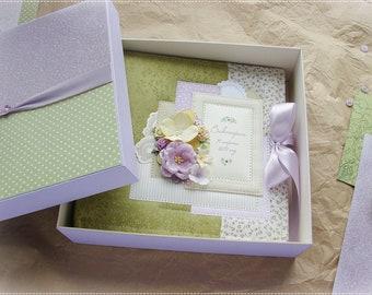 Baby Memory Book, Personalized Baby Book, Baby Album, Baby Shower Gift, Baby photo album, Scrapbook Album, Baby photo book, photo album girl