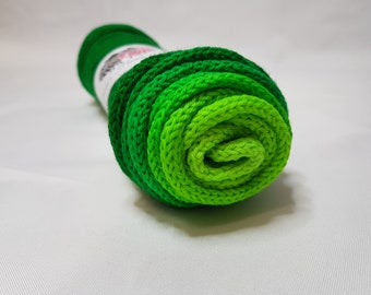 Hand dyed SW Merino / Nylon yarn, Sock weight, 4-ply, 100g, LIME PIE, gradient, sock blank