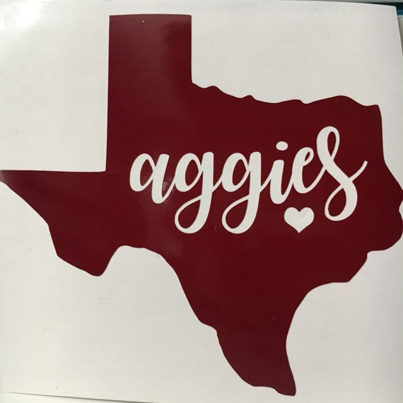 Texas Aandm Decal Stickers