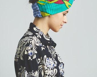 Hair band, turban, headband turban woman, hair accessories, DivintageLab, Africa wax print, hair bands