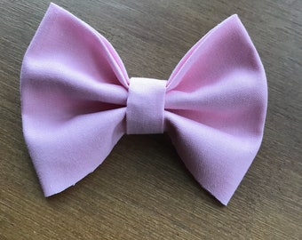 Baby pink girl/baby/toddler bow