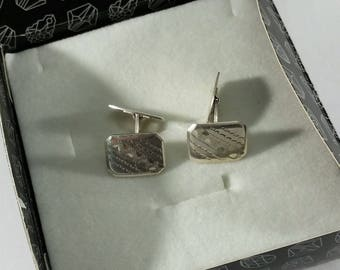 Cufflinks silver 835 Cufflink noble MS131