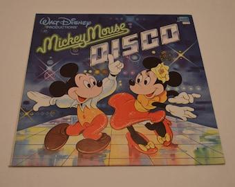1979 Walt Disney Productions' Mickey Mouse Disco LP Vinyl Record