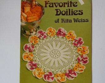 Favorite Doilies of Rita Weiss 1022 American School of Needlework Crochet