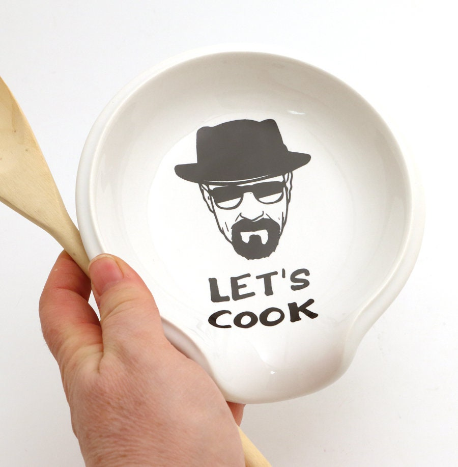 Breaking Bad walter white inspired spoon rest let\'s cook