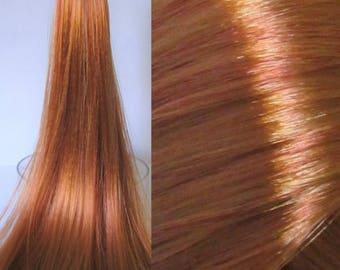 BRONZE SHIMMER Saran/Nylon Hybrid Blend for Doll/Pony Rerooting/Wig Making/OOAK