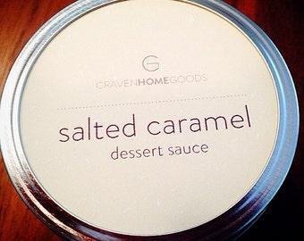 Salted Caramel Dessert Sauce