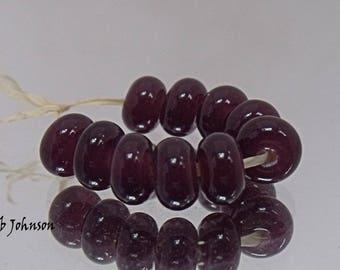 Grape, Artisan Lampwork Glass Beads, SRA, UK
