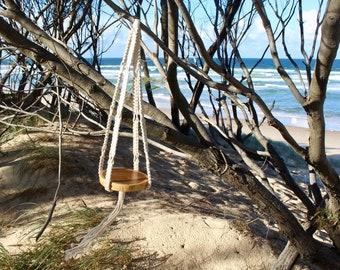 Sway Macrame Hanging Table