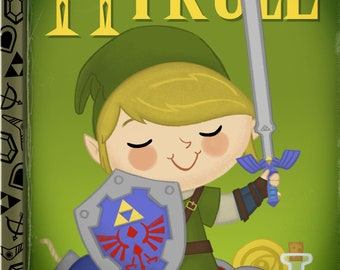 The Little Legend of Hyrule 5x7 POSTCARD