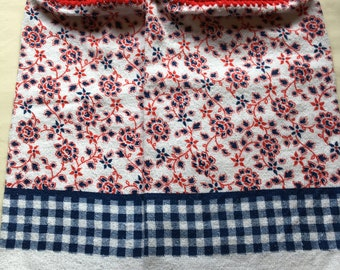 Red, White, Blue Kitchen Towel set of 2