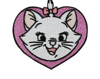 Disney Aristocats Cute Kitten Marie Iron-On Patch Girl Craft Accessory Applique