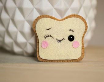 Mini toast plush felt